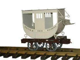 Ministeam Passenger Car O Gauge (32mm) Kit